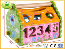 Eco- freundlich bunte woodern spielzeug großhandel kinder holzspielzeug