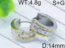 With awesome service hoop earring for kids