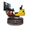 8d racing car game machine with 360 degree rotation