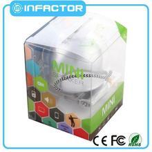 Plastic 2014 cara membuat speaker aktif mini and portable made in China