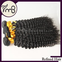 No tangle high quality can be dyed and bleached kinky curly human hair