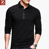 New style men's slim fit blank polo t shirt