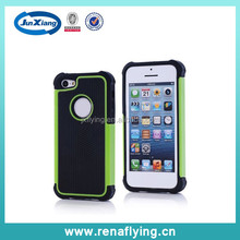 silicon+plastic mobile phone case hydrid case for iphone 5c