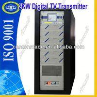 2KW DVB-T Digital TV signal Transmittetr digisenders D3