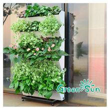 New wholesale aquaponic stackable garde pots on TV
