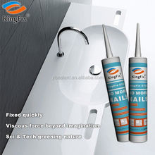black color 320ml tube strong adhesion nail liquid sealant for Plaster