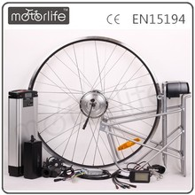 MOTORLIFE 2014 Direct factory supply CE&ROHS approval electric motorized e bike conversion kit