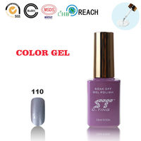 Silver Advertising Nail Polish for Beauty Salon Design