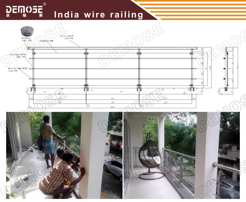 Modern iron terrace railing designs in india view terrace for Terrace 6 indore address