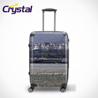 2014 New Design 12/20/24 3 PCS ABS+PC Luggage And Cosmetic Case