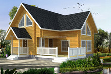 Beautiful Prefab House Manufacture Prefabricated wooden Villa