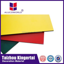 Alucoworld 20 years warranty pvdf acm aluminium perforated facade panel trailer cladding aluminium composite panel