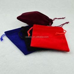 10X16Cm Custom Velvet Drawstring Pouch Bag For iPhone 4 4S 5 5S 6 6Plus