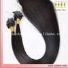 Best selling products silky straight colored human hair micro links hair extension