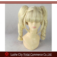 Wholesales high quality Japan synthetic TODO Yurika SAMA Blonde cosplay wigs