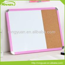 Good quality 2 in 1 magnetic board decorative bulletin cork board