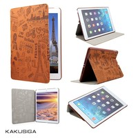 China manufacture professional flip leather waterproof case for ipad 2 3 4