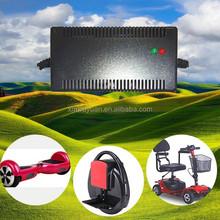Smart li-ion battery scooter charger 12v 24v 36v 48v