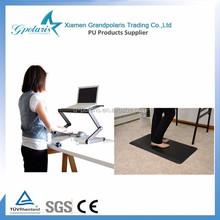 Decorative PU Anti-fatigue Floor Mat for Office Chair