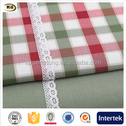 Green england colorful stripes bedding fabric tablecloth fabric