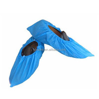 Cover shoes for hospital/overshoes/disposalbe pe shoe cover for hospital