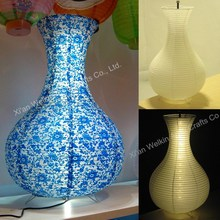 Assorted designs led paper lantern/floor lamp