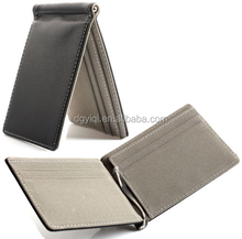 wholsale Europe best selling leather rfid card holder