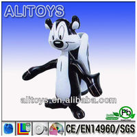 inflated toys/cute inflatable squirrel model for kids