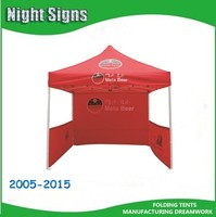 screen printed/promotional/pop up canopy/Pepsi advertising gazebo/ display aluminum folding tents