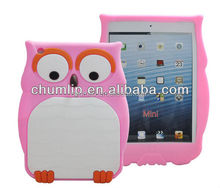 animal silicone rubber cover case for ipad mini 2