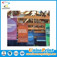 digital print Vinyl Flags & Banners Material and Advertising Usage advertising pvc poster