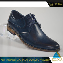Top selling design customized high quality royal blue mens fashion shoes for wholesale