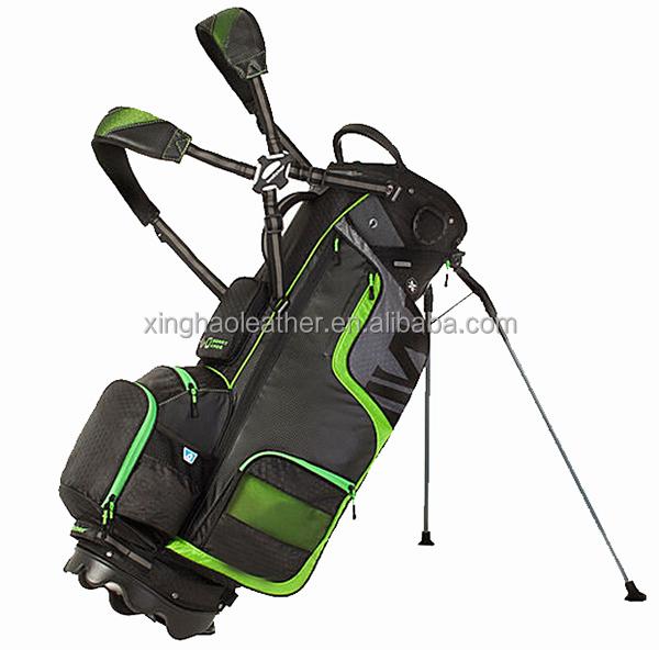Hot Sell Fashion High Quality Durable Nylon 3 Club Golf Bag