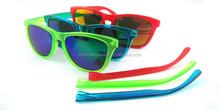 interchangeable sunglasses,frogskins sunglasses with interchangeable temple,polarized frogskin sunglasses
