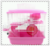 colorful Double Snow Castle Cherry Blossom Mocha world hamster cage