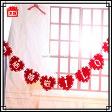 Cheap decoration hanging lovely wedding garlands for bulk sale LH04