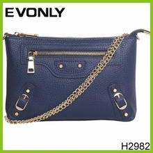 H2982 Fashion Wholesale Cheap Long Chain Envelop Bag Messenger Bag Small Shoulder Bag For Girls Ladies Women