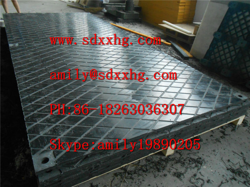 Large size UHMWPE or HDPE Plastic drilling rig floor mats