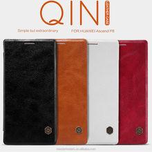 Original Nillkin Qin Series Wallet Flip PU Leather Case For Huawei Ascend P8 MT-3639