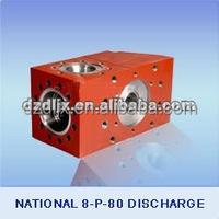 National 8-P-80 Discharge Mud Pump Fluid End Module