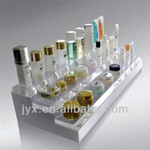 Transparency Chemical Resistance Perspex Cosmetic Holder / Acrylic Cosmetic Product Display