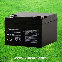 Most Reliable Yuasan Sealed SLA Rechargeable Battery Long Life VRLA Exide UPS Battery 12V 26AH