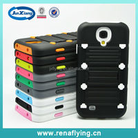 Hot Selling Soft Silicone and Hard PC Hybrid Phone Case for Samsung Galaxy S4