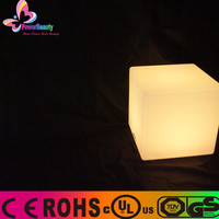 2015 led outdoor light chair waterproof solar powered garden lights led rgb cube for bar led rgb cube for bar