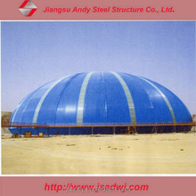 Cheap light structure dome roof design