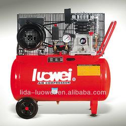 Belt driven Italy type twin pump air compressor