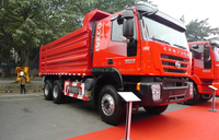 Best sale 6x4 dump truck used to mining with left hand drive tipper truck