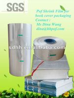 Polyolfien Plastic Roll Shrink Wrap Film for Book Cover