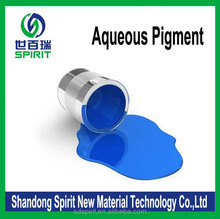 waterbased coloring pigment blue