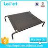 For travelling and camping large metal elevated outdoor dog beds